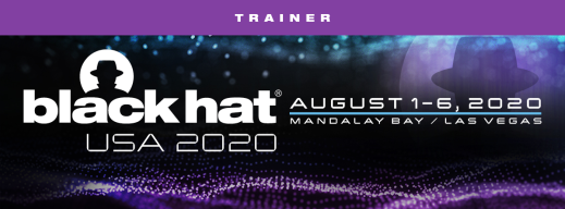 BlackHat USA August 2020